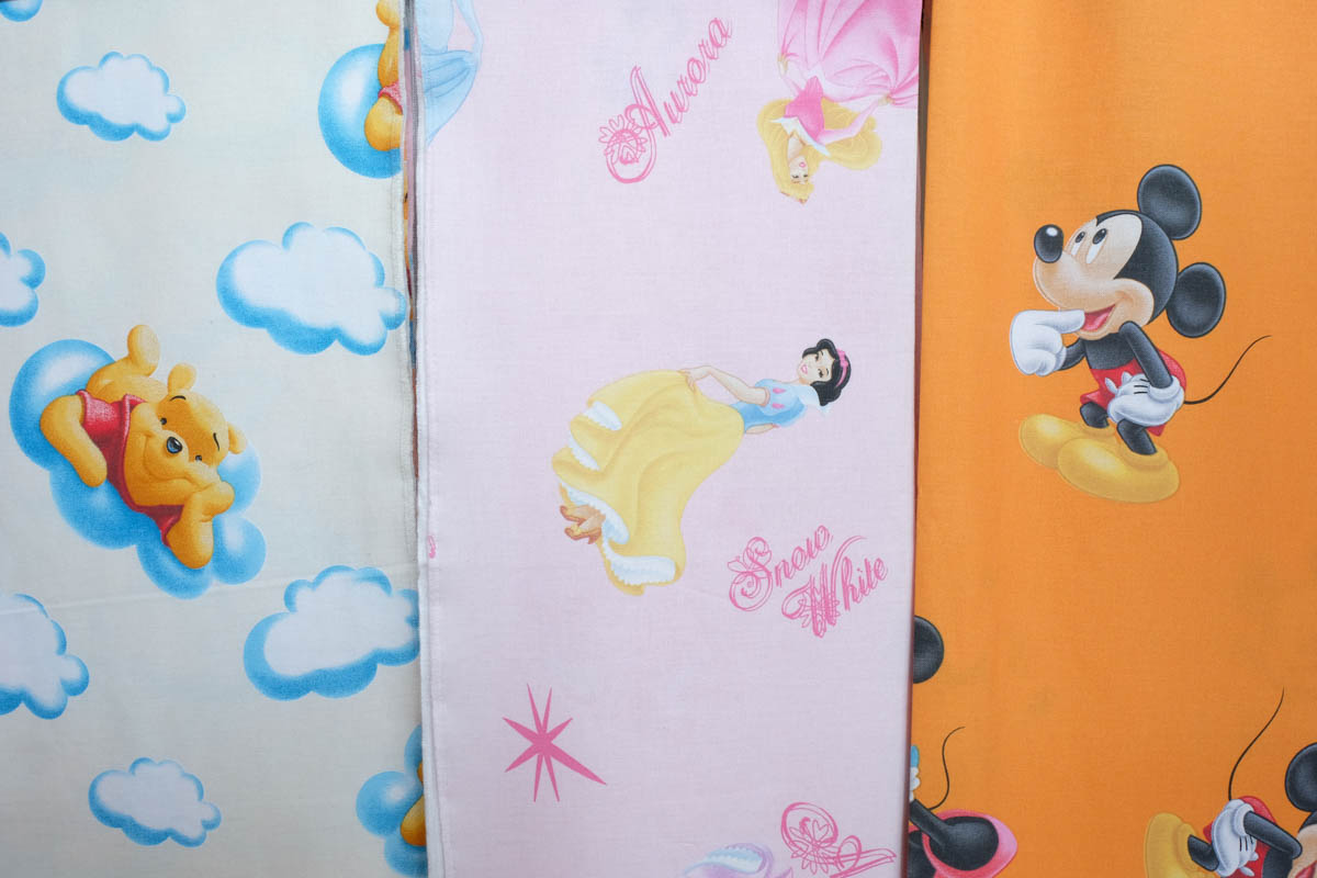 Tende Bambini Disney : Tessuti per bambini u2013 centro scampoli bergamo tessuti tendaggi tende